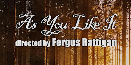 William Shakespeare's As You Like It RECORDING tickets