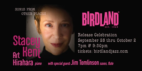 """Stacey Kent and Art Hirahara """"Songs from Other Places"""" Album Release tickets"""