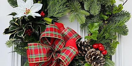 Christmas Holly Wreath Workshop tickets