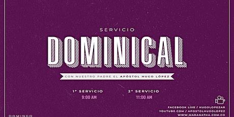 Servicio Dominical   9 A.M. entradas