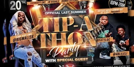 OFFICIAL LAST SUMMER Tip-A Thon PARTY with Special Guest tickets