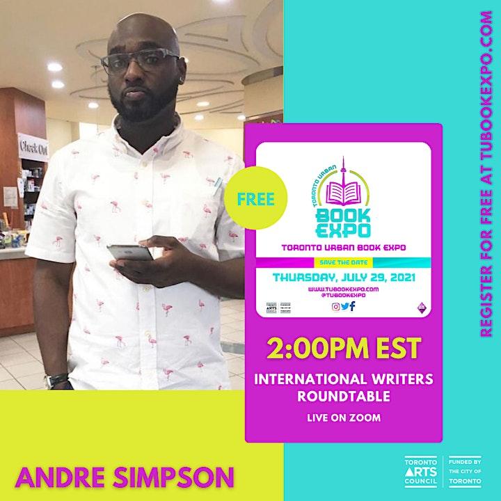 TUBookExpo // International Writers Roundtable image