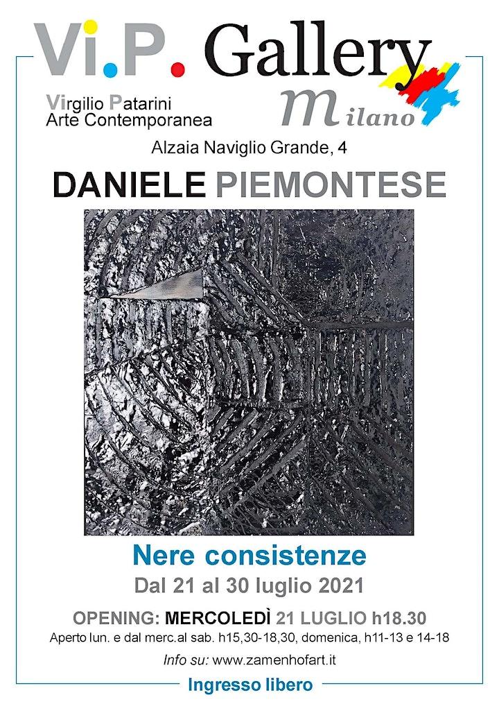 Immagine Daniele Piemontese, Nere Consistenze