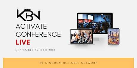 Kingdom Business Network Activate Conference tickets
