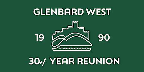 Glenbard West Class of 1990 Reunion - 30 + 1 tickets