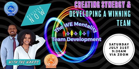 The We Mentality-Creating Synergy & Building a Winning Team tickets