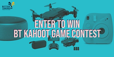 BT Global Kahoot Game Contest tickets