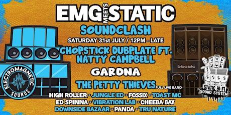 EMG Meets STATIC // Soundclash tickets