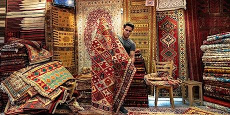 Persian rug! A garden of thousand colours! tickets