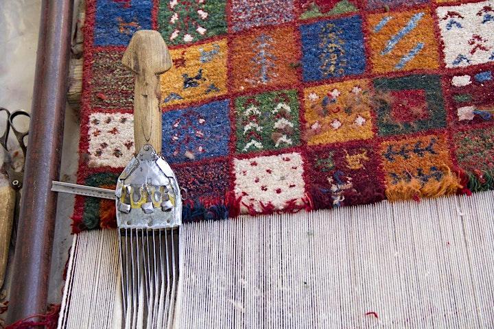 Persian rug! A garden of thousand colours! image