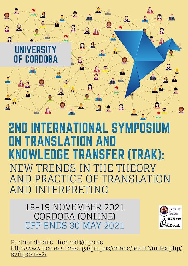 Imagen de 2nd International Symposium on Translation and Knowledge Transfer (TRAK)