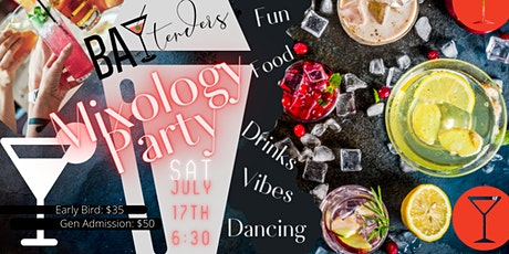 Baytenders Mixology Party Experience tickets