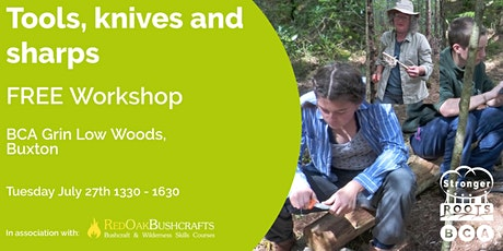 Tools, knives and sharps workshop tickets