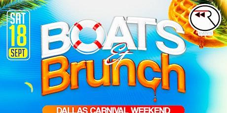 Boats & Brunch tickets