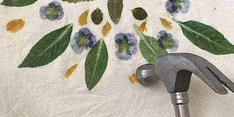 HIST VIVANTE/LIV HISTORY: Imprimés floraux martelés/Hammered flower prints tickets