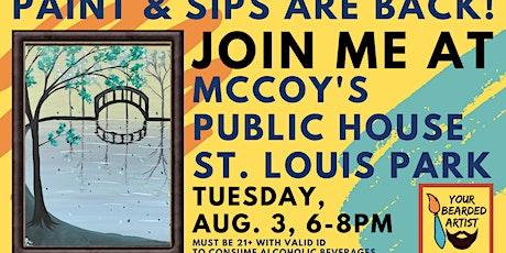 August 3 Paint & Sip at McCoy's Public House - St. Louis Park tickets