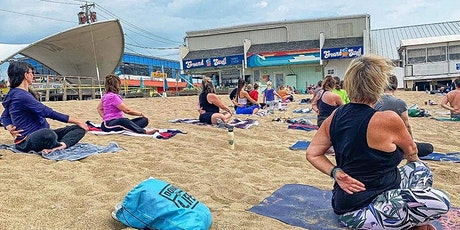 Friday Morning Beach Yoga at GROUNDSWELL tickets