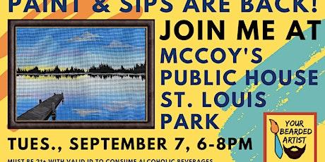 September 7 Paint & Sip at McCoy's Public House - St. Louis Park tickets