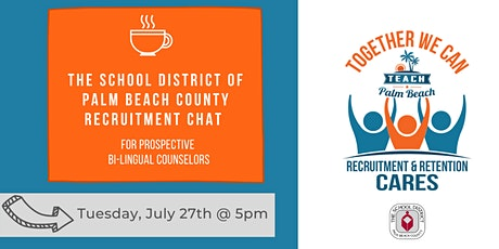 Bilingual Counselor Recruitment Chat tickets