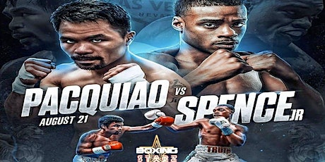 Pacquiao vs Spence French Quarter New Orleans Viewing Party tickets