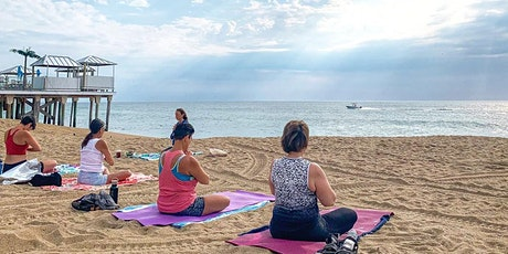 Saturday morning beach Yoga at GROUNDSWELL tickets