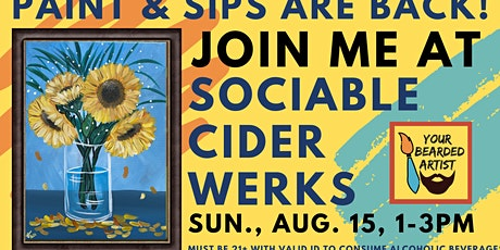 August 15 Paint & Sip at Sociable Cider Werks tickets