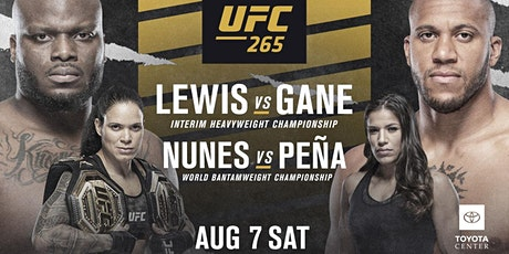 UFC 265 PPV French Quarter New Orleans Viewing Party tickets