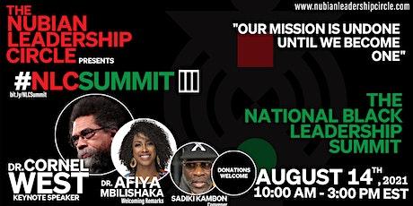 National Black Leadership Summit III tickets