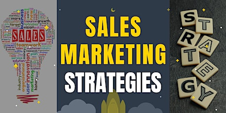 Sales & Marketing Strategies for Startup Business tickets
