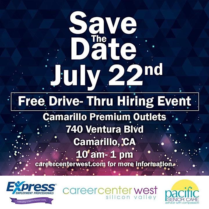 Free Drive- Thru Career Fair! JOBS! JOBS! image