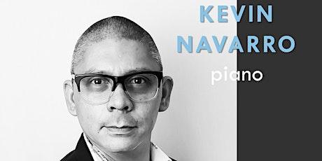 Kevin Navarro, piano tickets