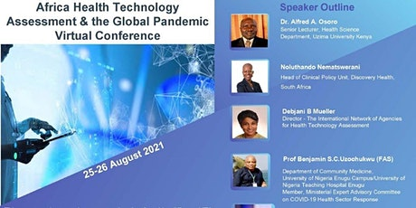 Africa Health Technology Assessment Virtually Conference tickets