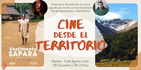 Cine desde el territorio: proyección de películas charla con los Guardianes entradas