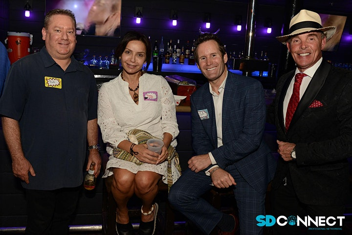 SD Connect August 2021 Business Networking Mixer image