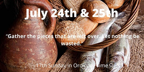 17th Sunday of Ordinary Time tickets