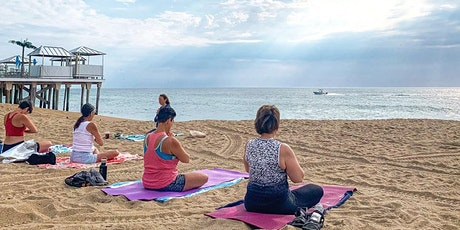 Thursday Evening Beach yoga at GROUNDSWELL tickets