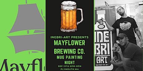 Beer Mug Painting At Mayflower Brewing Company! tickets