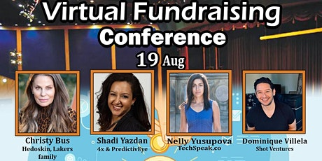 Pitch Startup To VCs - Virtual Fundraising Conference tickets