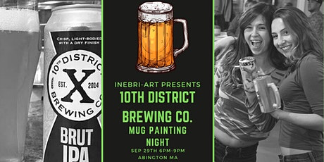 Beer Mug Painting At 10th District Brewing Company! tickets