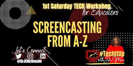 1st Saturday Tech Workshop (November 2021) tickets