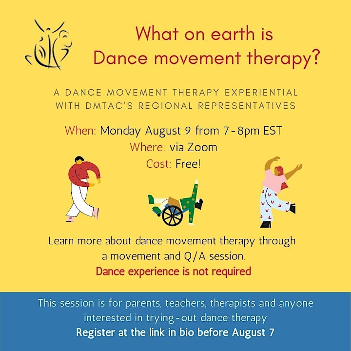 What on earth is Dance/Movement Therapy? image