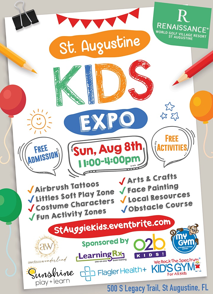 St. Augustine Kids Expo image