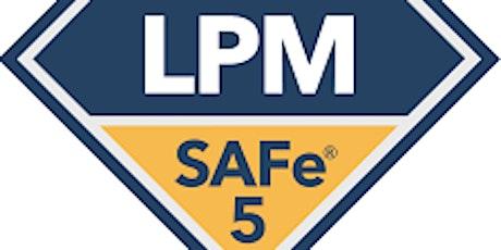 SAFe® 5 Lean Portfolio Management (LPM) (v5.1) - SAFe Bronze Partner ingressos