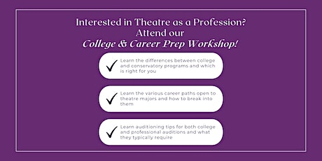 College and Career Prep Workshop tickets