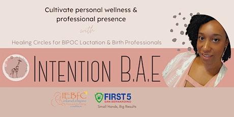 Healing Circles for BIPOC Lactation & Birth Professionals tickets