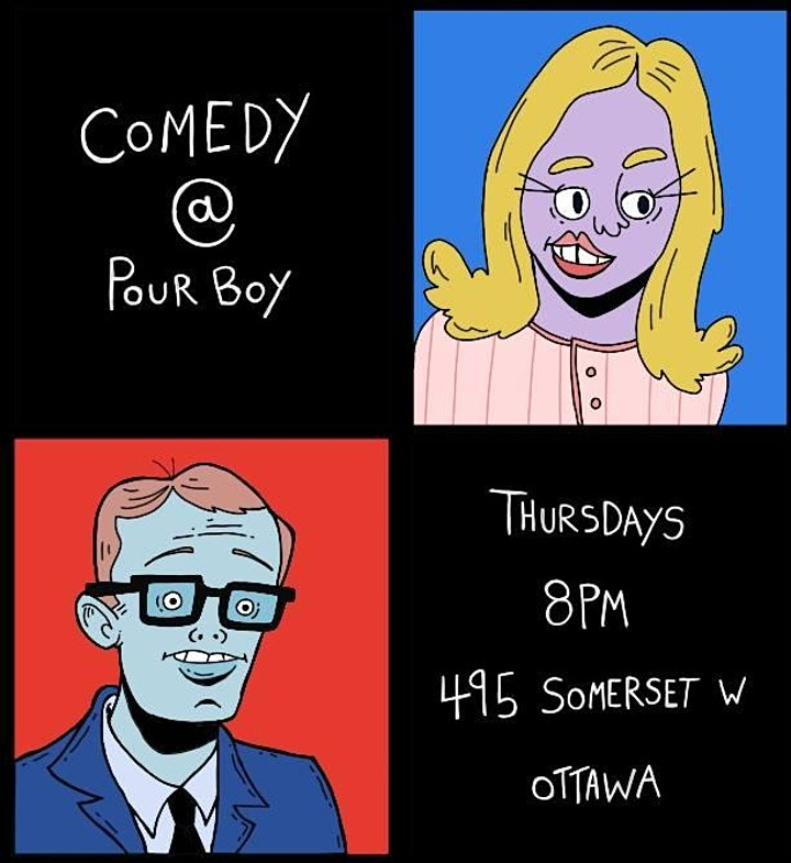 That's Rich! Comedy at Pour Boy (FREE WEEKLY COMEDY SHOW) image