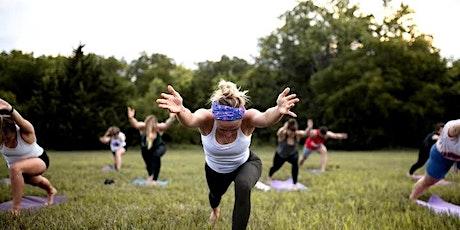 Yoga at Brookside Farmer's Market Benefiting Cerner Charitable Foundation tickets