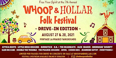 Whoop & Hollar Folk Festival: Virtual Livestream Tickets