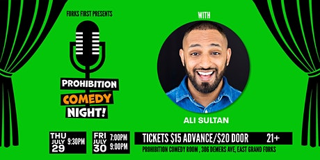 Prohibition Comedy Night with Ali Sultan tickets