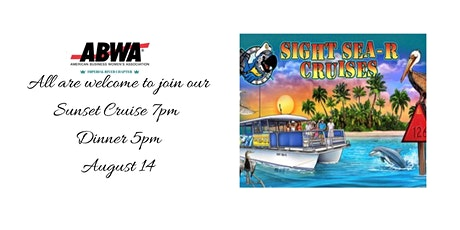 August 14 Dinner and Sunset Cruise tickets